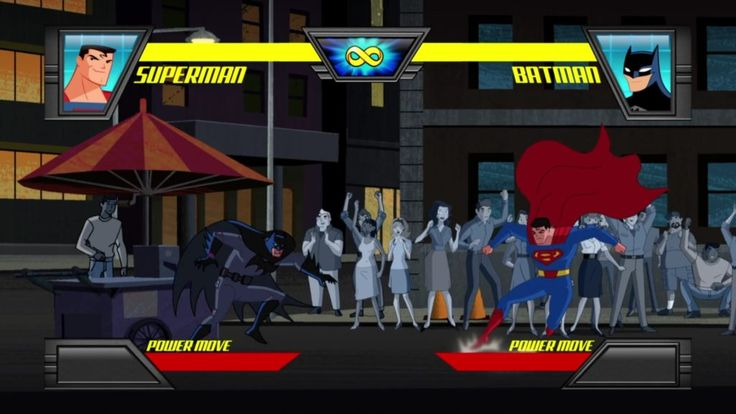 More from the fictional Justice League Action fighting game.