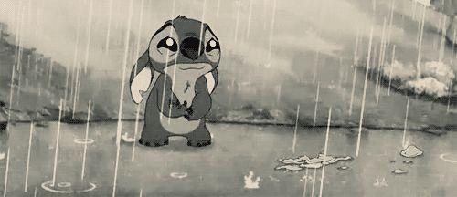 Stitch Has a sad