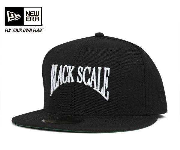 ニューエラ×ブラックスケール キャップ エグゼンプラー ブラック 帽子 NEWERA×BLACK SCALE 59FIFTY CAP EXEMPLAR BLACK [ ニューエラ ニューエラ ニューエラ キャップ ニューエラ 帽子 ニューエラ NEWERA キャップ NEWERA NEW ERA メンズ ][BK] #CP:B:楽天