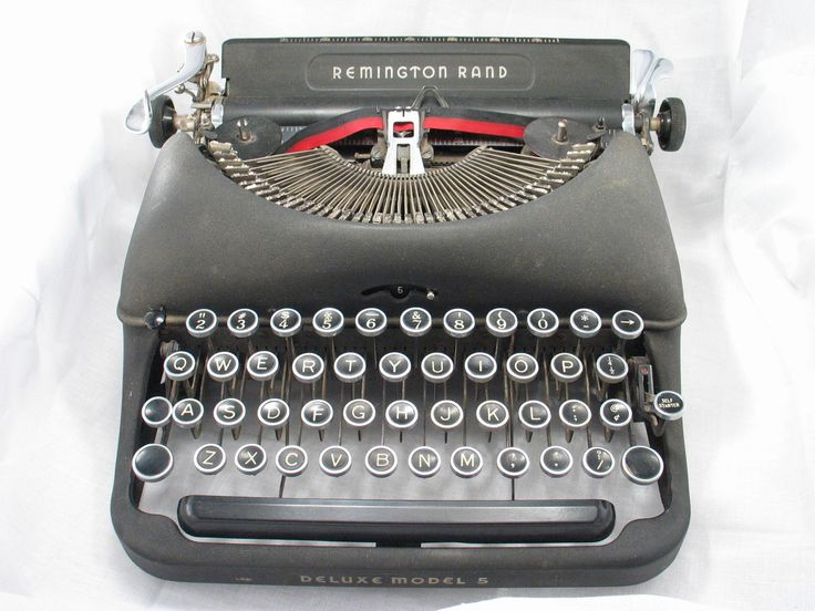 What Not to Say to an Author (blog post June 2016) Image of typewriter from FreeImages.com/Kia Abell