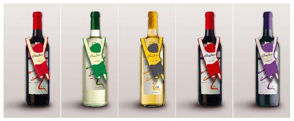 Cono sur  wine neckhanger by Jan Prell, via Behance