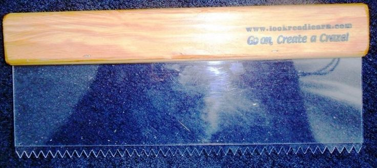 Details about 'OFFERS' New Artex Pattern Comb Tool 10 ...