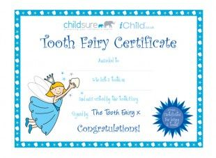 17 best images about tooth fairy on pinterest punch for Free printable tooth fairy certificate template