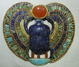Ancient egypt scarab