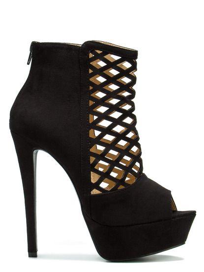 Pantofi cu toc înalt  Alexander Krist - negru