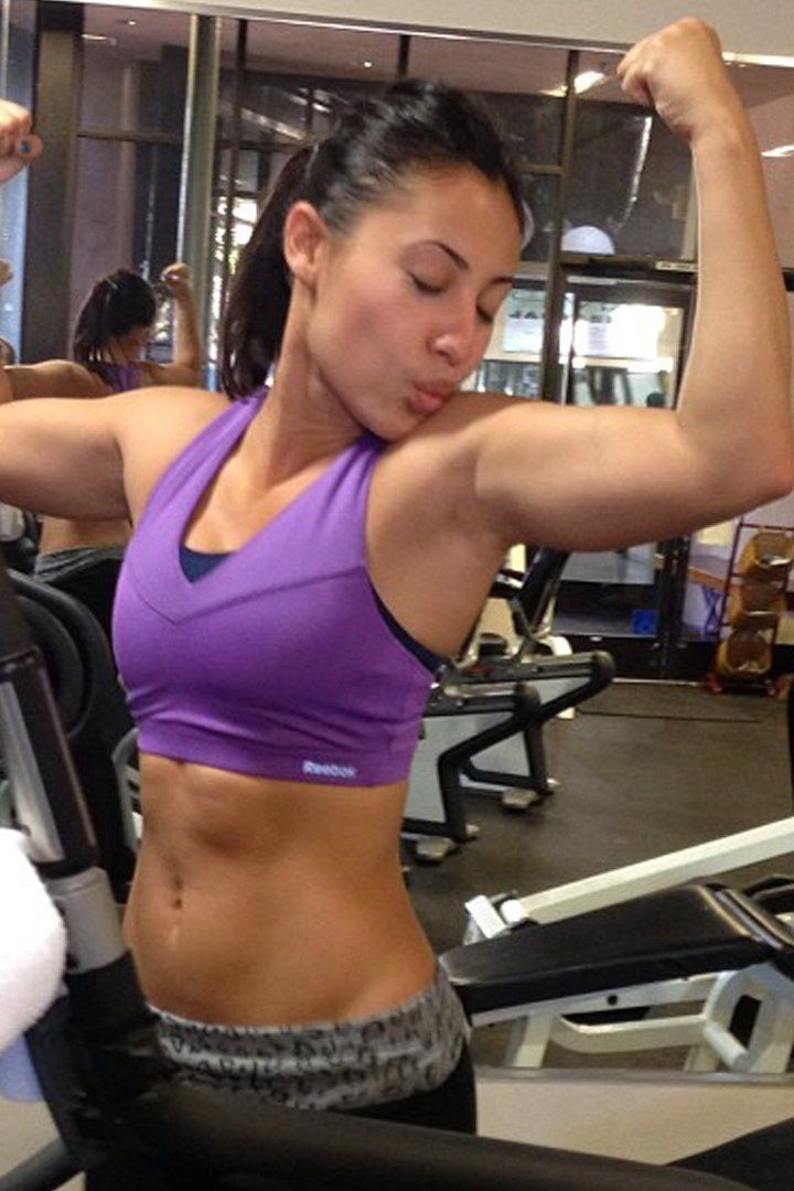 Pin for Later: Francia Raisa's Instagram Contains All the Motivation You Need to Get to the Gym