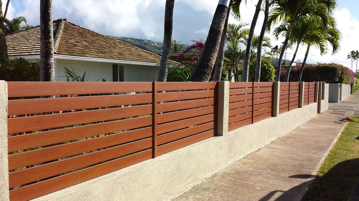 Knotwood aluminum fences offers unlimited designs of the latest styles with the ability to install the aluminum slats vertical, horizontal or diagonal, while using any size spacing between fence slats and the ability to install the slats on an angle to create a louvre style. #Knotwood #Aluminum #Fencing
