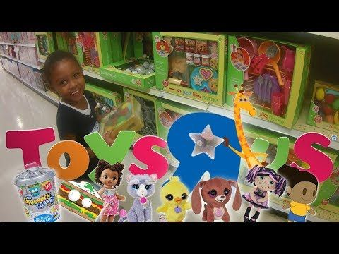 Ava's Toys R Us Wish List Trip / Baby Alive / Fur Real Friends / Flip Zee Girls / Sofia The First - YouTube