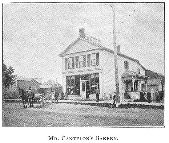 Cantelon's Bakerry, Goderich, Ontario c.1897 #Goderich #RediscoverGoderich #VintageGoderich
