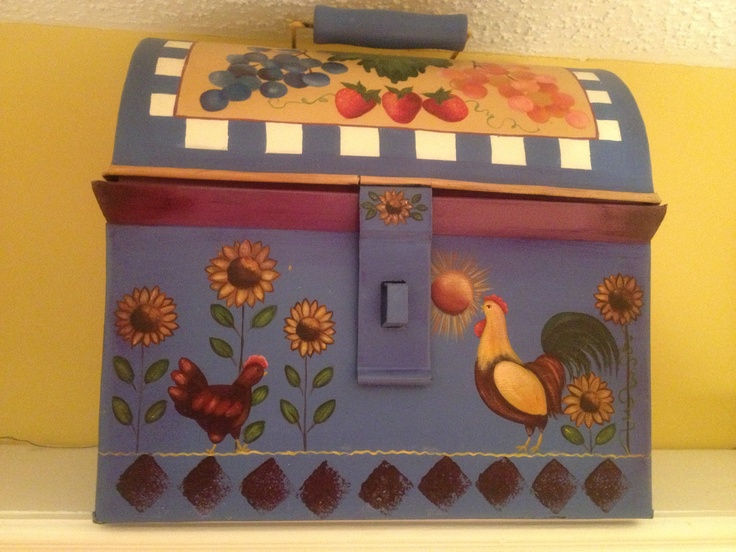 Decorative Box Lunches : Best images about decorative painting on