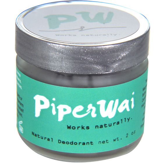 PiperWai Natural Deodorant is a natural creme charcoal deodorant that actually works. Absorbs sweat and controls odor. Effective for sensitive skin.