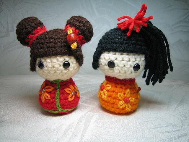 Amigurumi Kokeshi Doll Pattern : 168 best amigurumi kokeshi doll images on pinterest kokeshi