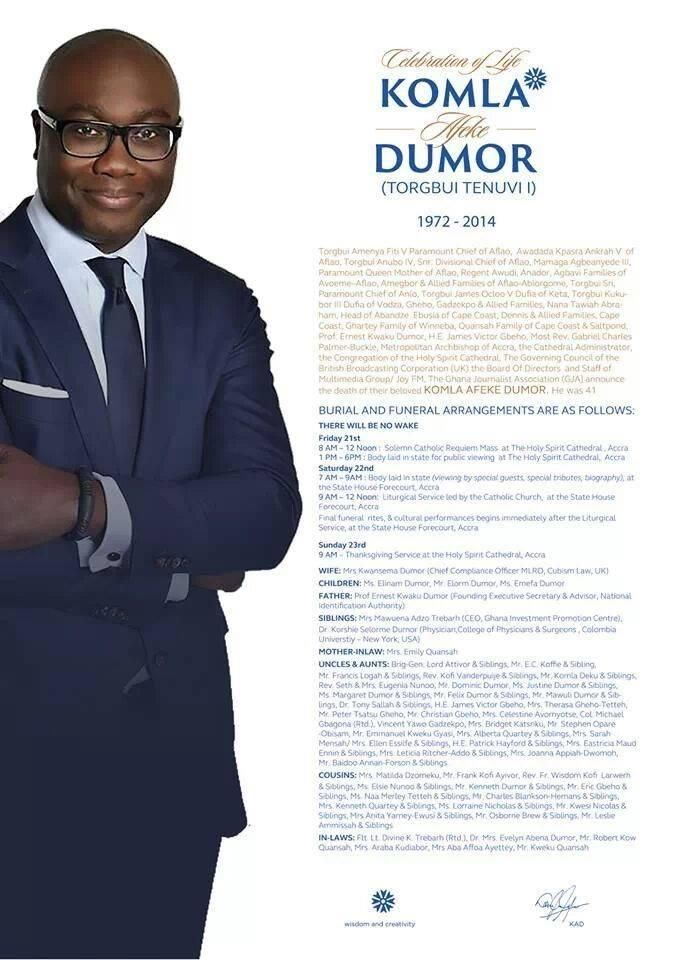 Komla Dumor To Be Buried Saturday See Obituary Amp Funeral