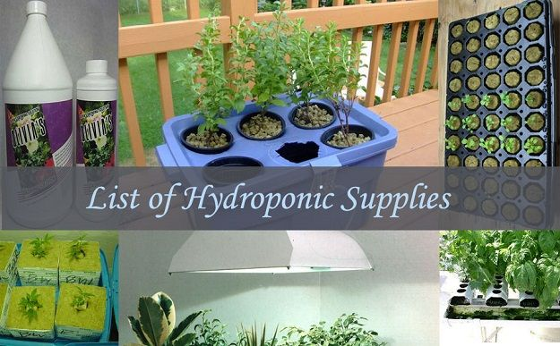 Hydroponic Supplies You Need to Start a #Hydroponic Garden