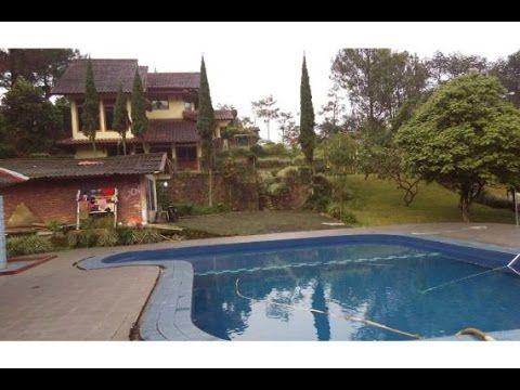 Dijual Villa 3 Lt Beserta Lahannya 2.635 M SHM  di Cisarua Puncak - BOGOR