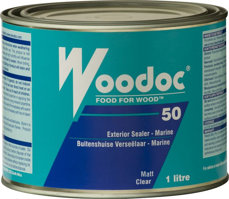Woodoc 50 Exterior Matt Sealer  For exterior use where a clear, matt sealer providing a high build-up of product is required. Provides UV-protection and is water repellent. Ideal for yachts, boats, gates,garage doors and window frames. - See more at: http://www.woodoc.com/categories/2/products/26#sthash.Bg6VdExw.dpuf  #woodoc #50 #exterior #matt #sealer #wood #varnish #outdoor #protection