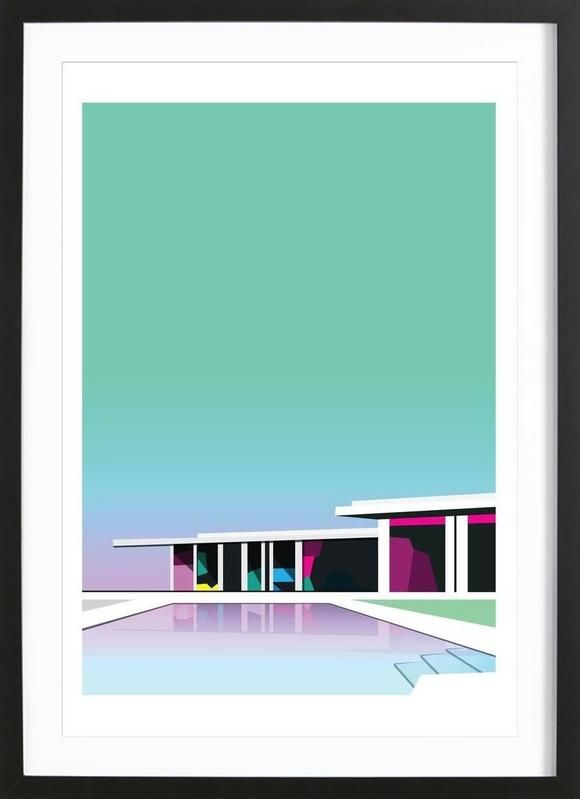 Less than zero as Framed Poster by Three Of The Possessed | JUNIQE