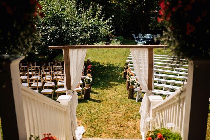 Rustic Ceremony Arch