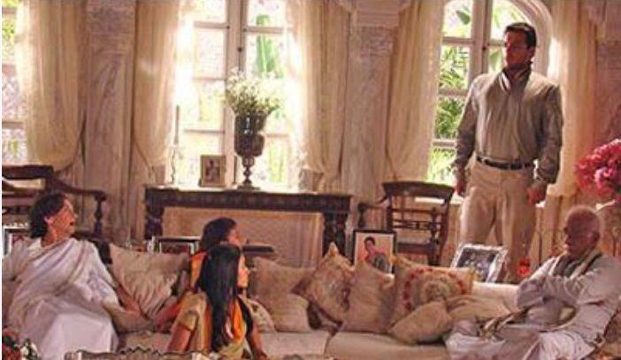 CAMINHO DAS INDIAS - novela de Gloria Perez -  cenario - casa Raj com familia