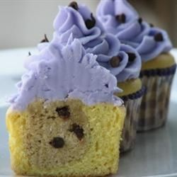 Chocolate Chip Cookie Dough + Cupcake = The BEST Cupcake. Ever. Recipe ...