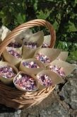 Stunning real petal confetti, grown in the uk, looks even better on the day!