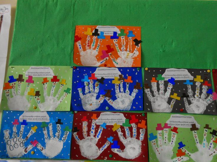 Το μαγικό κουτί της...Κατερίνας: Χιονανθρωπάκια γλυκά....που ξετρελαίνουν τα παιδιά!!