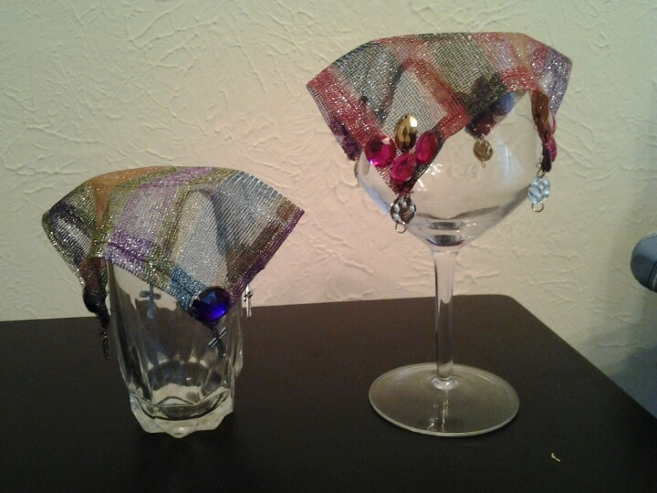 Glass Drink Covers For The Garden
