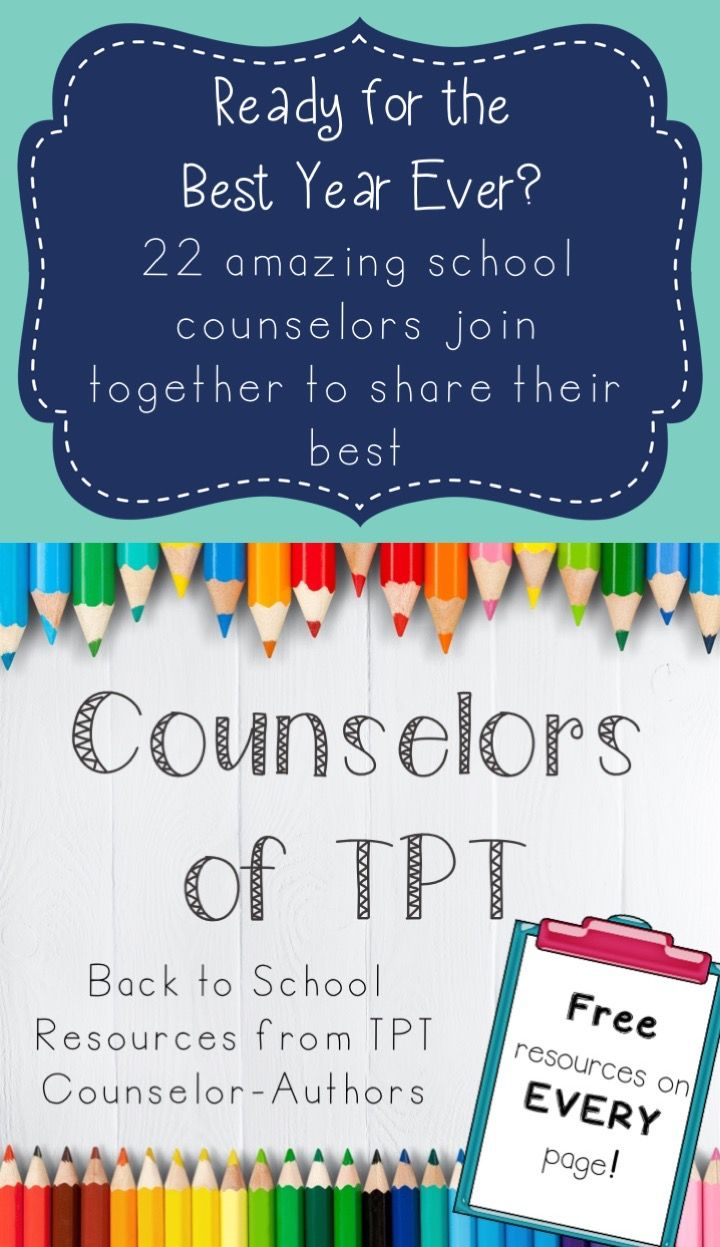 314 best school counseling office images on pinterest elementary ebook of back to school resources from tpt counselor authors a freebie on every fandeluxe Choice Image