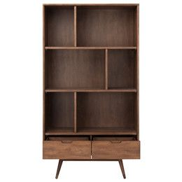 "Affleck Double 64"" Standard Bookcase"