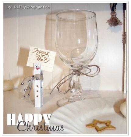 Tuto DIY Idée déco de Noël récup #2 : marque-places pinces à linge   LillyChouquette