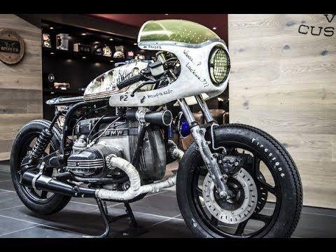 BMW R80 RT  #FUCK OFF#  (Ex Polizei) Bike by VTR Customs