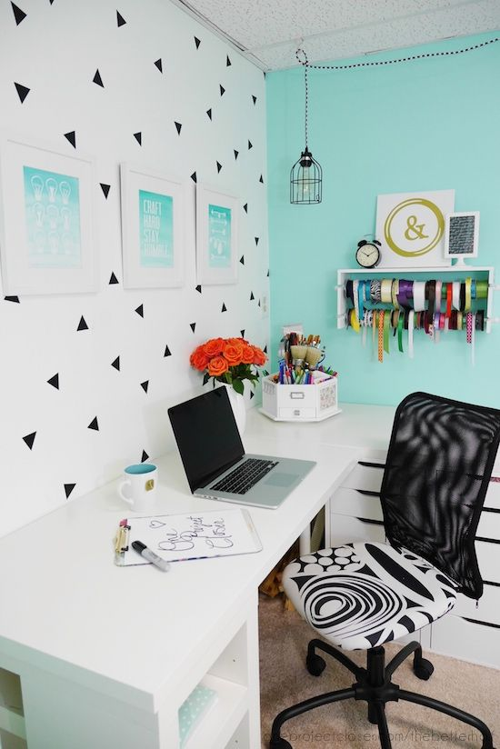 Easy and Inexpensive Basement Craft Room Makeover