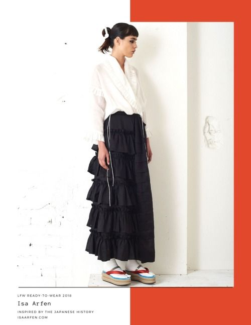 Isa Arfen SS 2018 collection inspired by Japan