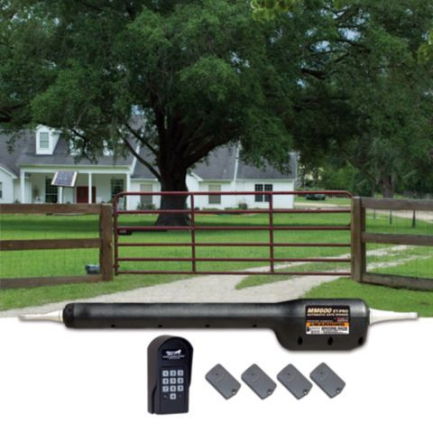 Mighty Mule® Automatic Gate Opener Rancher Combo Kit -- it's also solar-compatible!