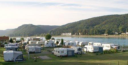 Wellness Rheinpark Camping Bad Hönningen | Der Campingplatz direkt am Rhein | Zelt, Wohnwagen und Wohnmobil