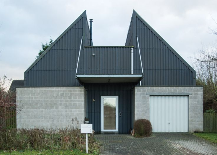 Hannes Coudenys creates an archive of Ugly Belgian Houses