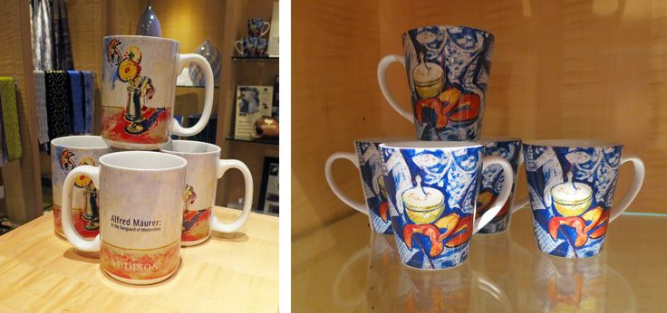 Mugs featuring work from Alfred Maurer: At the Vanguard of Modernism | $12.50 each