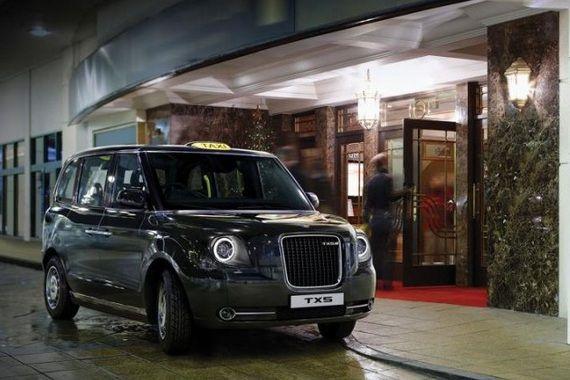 ロンドン名物「黒タク」、新形ハイブリッドカーになる