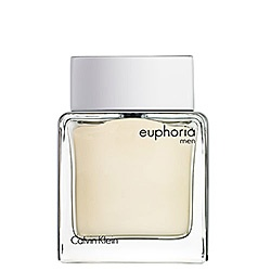 If a man walked past me smelling like this, I just might fall in love. Calvin Klein - euphoria men