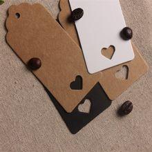 4 9 cm 100 unids lote papel kraft etiquetas colgantes for Papel de pared precio
