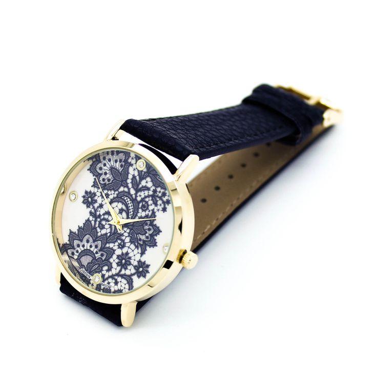 Lace strap watch (3 colors) – Imsmistyle.