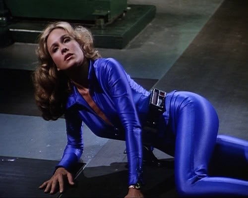 Catsuit, Spandex catsuit and Erin gray on Pinterest