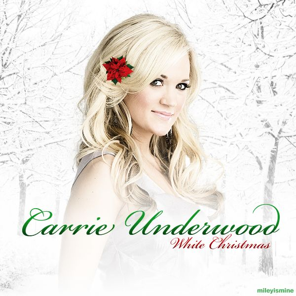 carrie underwood christmas | Carrie Underwood - White Christmas (FanMade Album Cover)