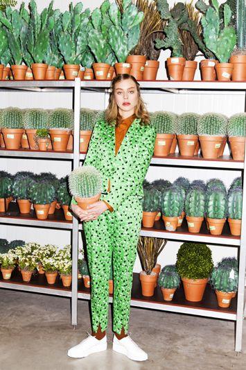Jumsuit passend zur Pflanze #fashion #pflanzenfreude #cacti