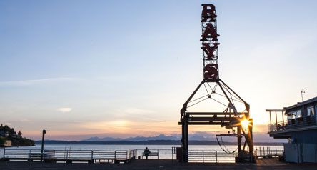 Dine at Ray's, an iconic Seattle seafood restaurant with waterfront view & deck. The freshest seafood restaurant in Ballard, WA. Bar happy hour twice daily.
