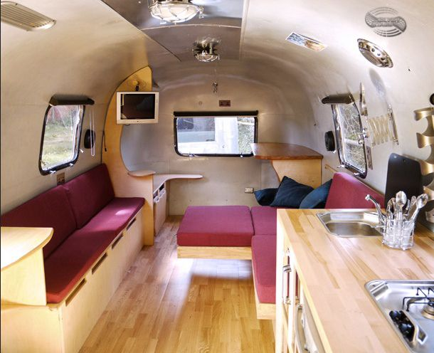 Fantastic I Was Country When Country Wasnt Cool  Vintage Camper Interior Camper In