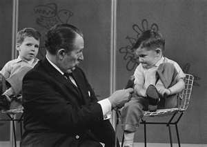 Art Linkletter..'Kids Say the Darndest Things'.