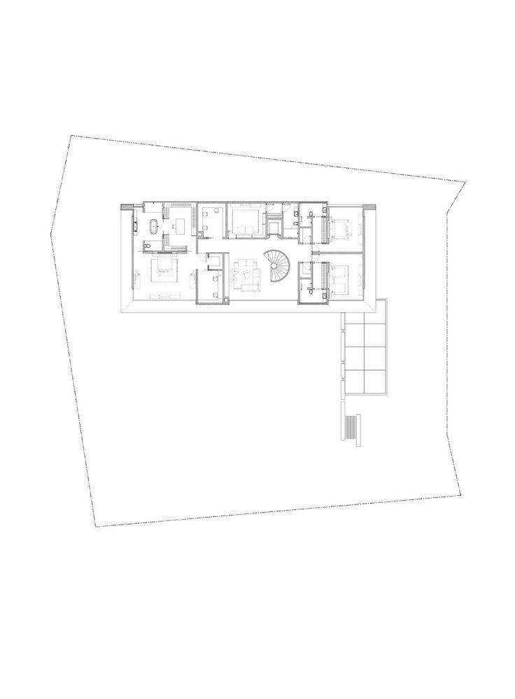 Gallery of 65BTP-HOUSE / ONG&ONG Pte Ltd - Second Floor Plan