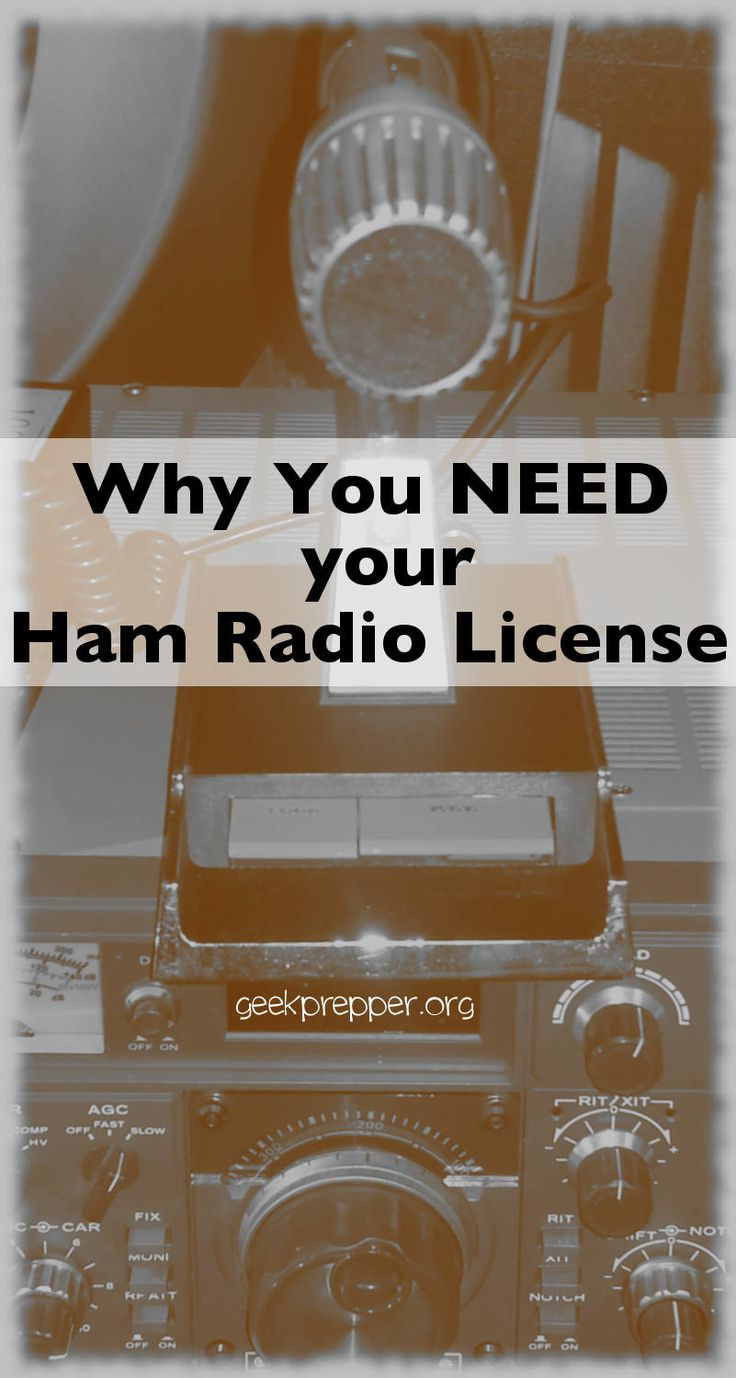 Best 25 ham radio antenna ideas on pinterest ham radio ham why do you need a ham radio license xflitez Image collections