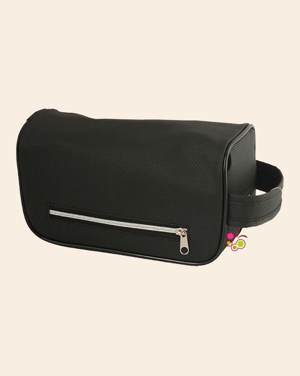 Bag Line Unisex Siyah Makyaj Çantası